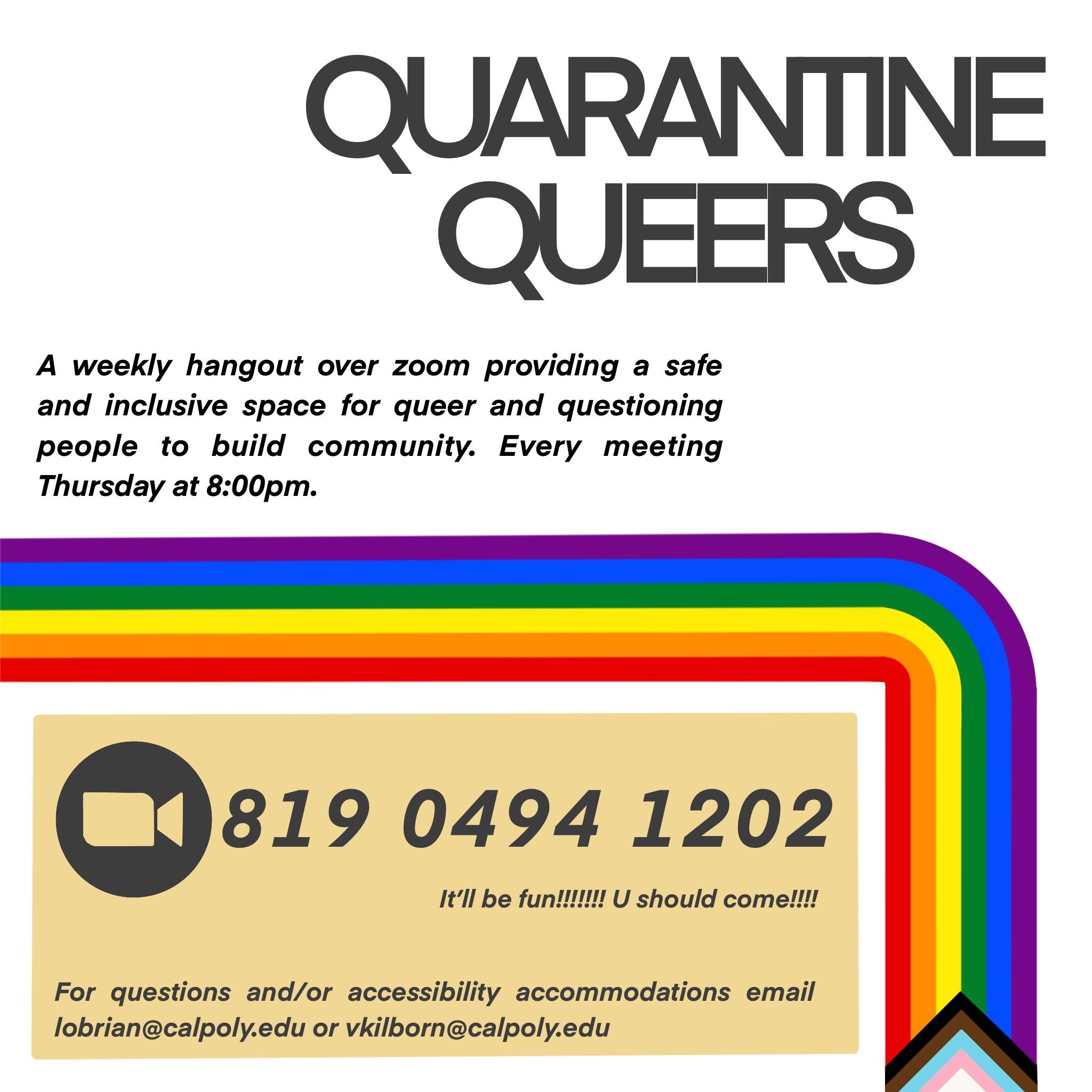 Quarantine Queers Group