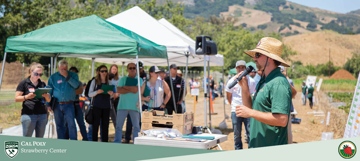 Cal Poly Strawberry Center hosts fourth annual field day event.