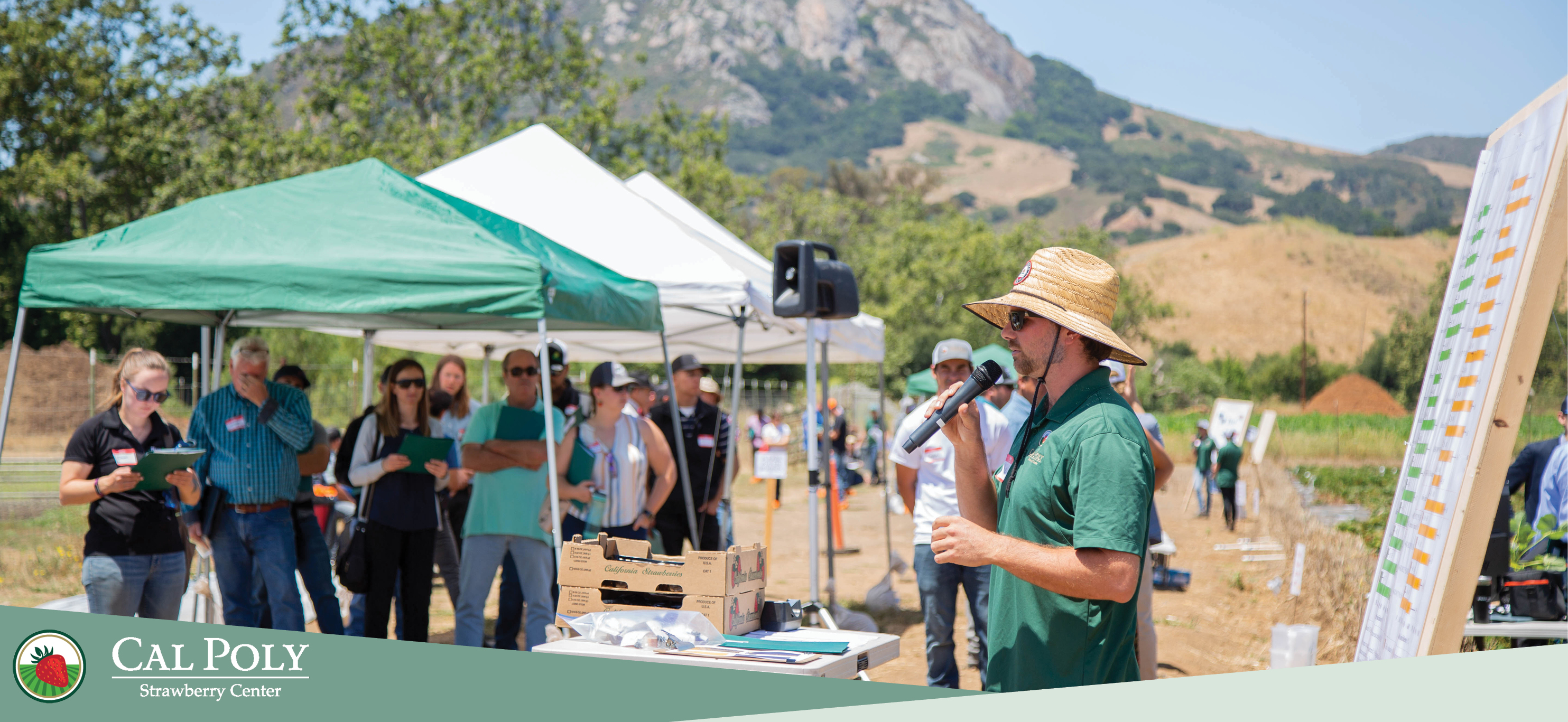 Cal Poly Strawberry Center hosts third annual field day event.