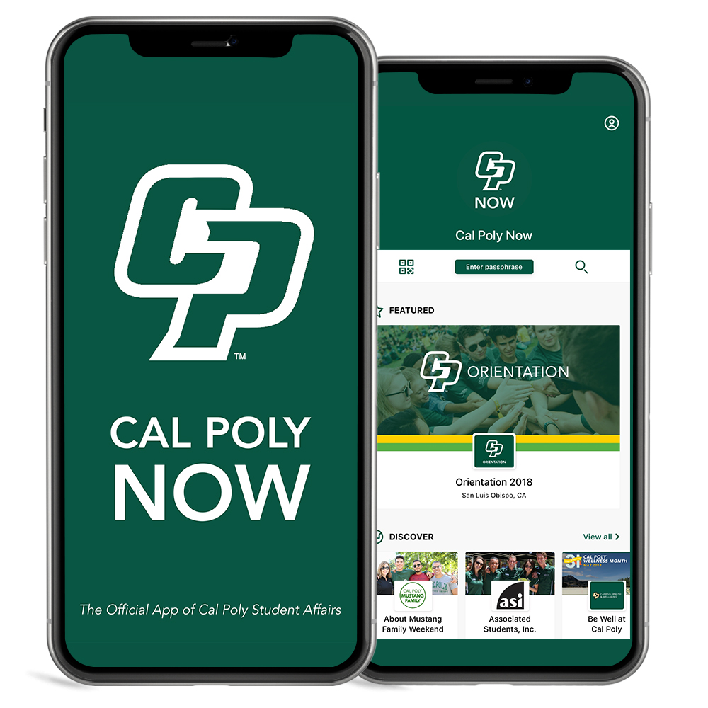 Cal Poly Now iPhones