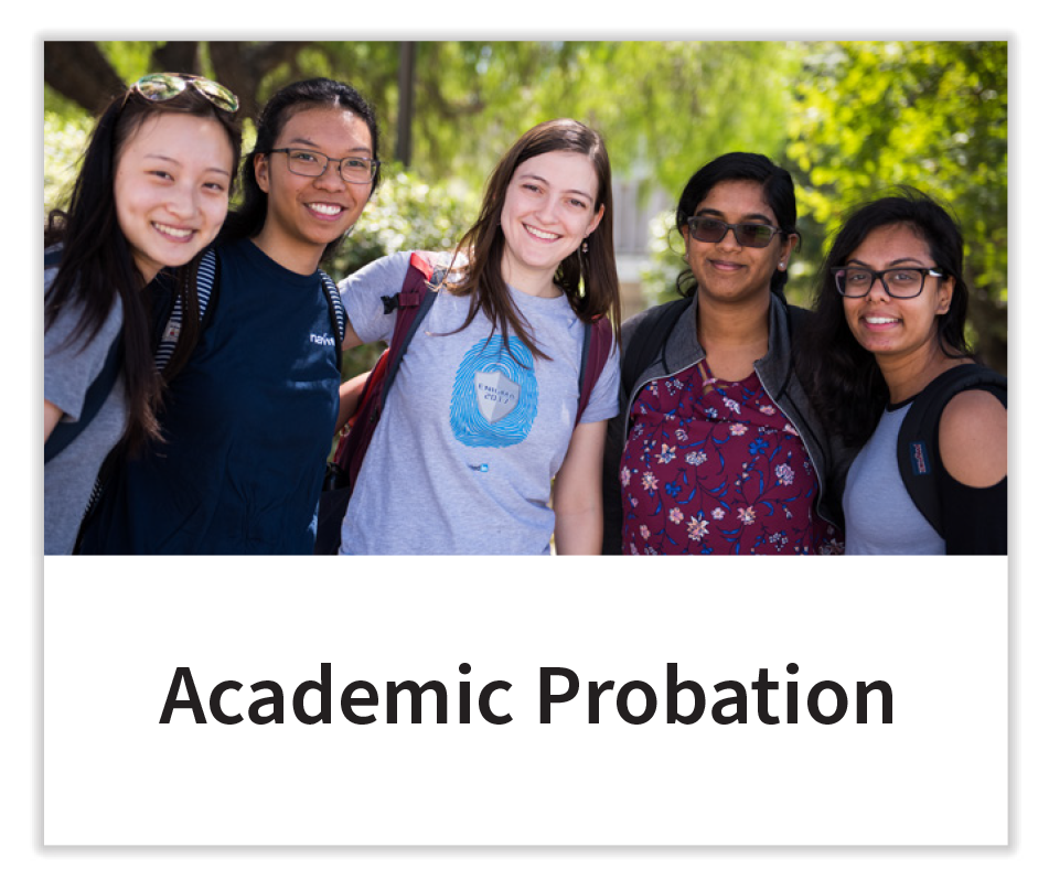 Academic Probation Button