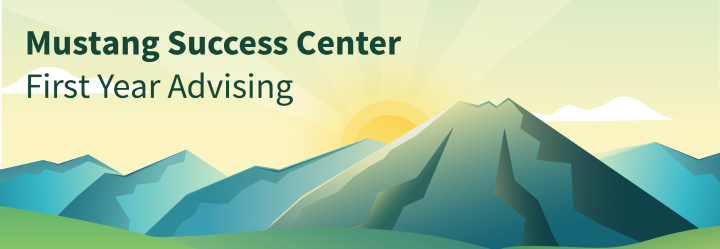 Mustang Success Center Banner
