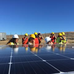 Teaching renewable energy in ENVE 480 using Cal Poly Facilities