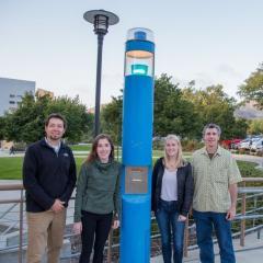 Testing Campus Blue Light App