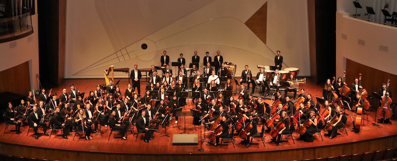 Photo of the Cal Poly Symphony