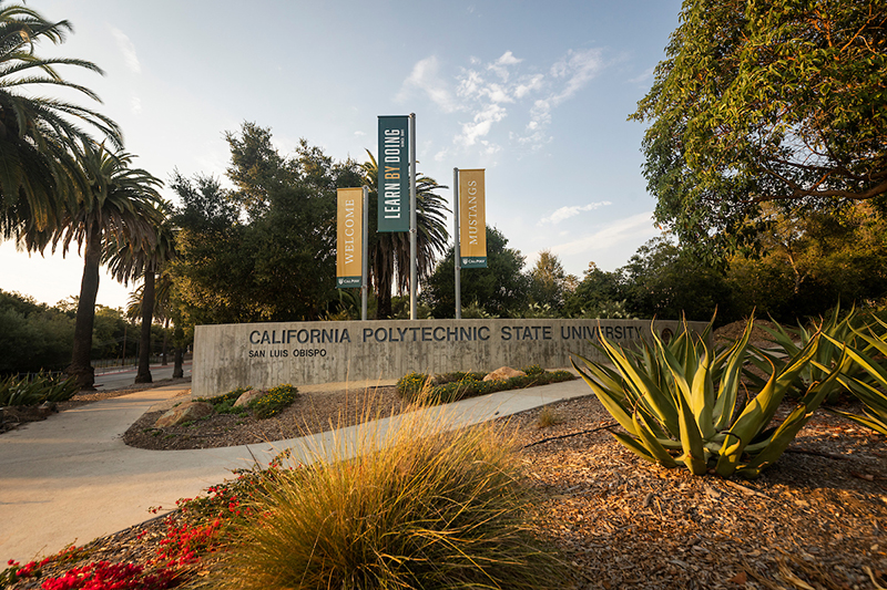 California Blvd entrance to Cal Poly