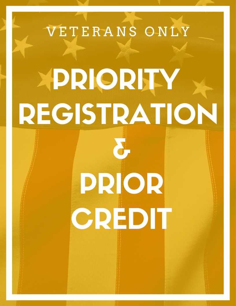 priority registration and prior learning