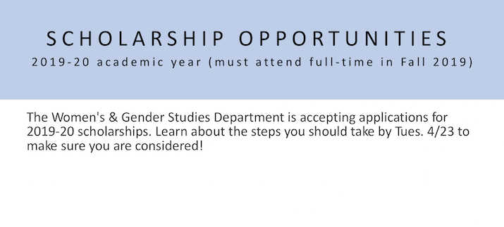 2019-20 Scholarship Opportunities