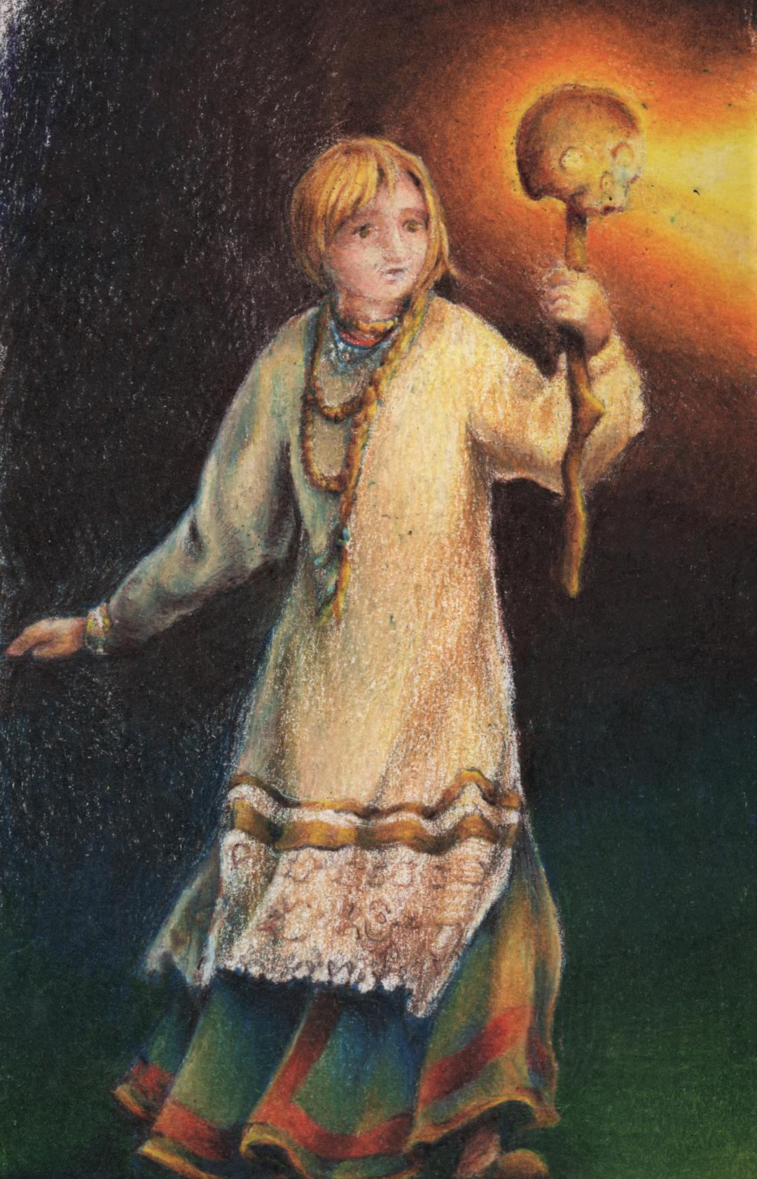 An illustration of a fairytale