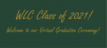 Congrats to the WLC Class of 2021