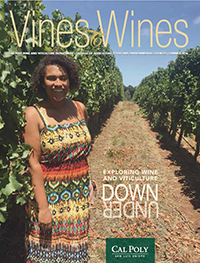 Cover of the 2016 Vines to Wines