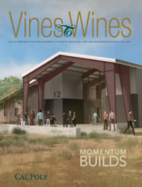Cover of the 2017 Vines to Wines