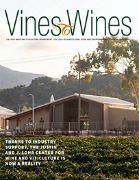 Cover of the 2020 Vines to Wines